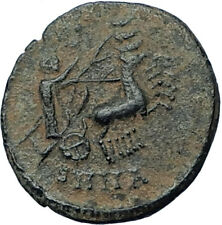 CONSTANTINE I the Great CHARIOT to GOD HAND in HEAVEN Ancient Roman Coin i68177