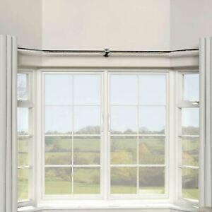bay window in curtain poles finials