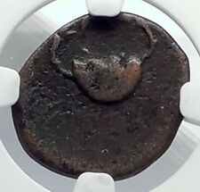 TERINA in BRUTTIUM 350BC Nymph Crab Authentic Ancient Greek Coin NGC i77370
