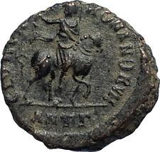 HONORIUS on Horse 392AD Original Genuine Authentic Ancient Roman Coin i67121
