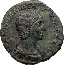 JULIA MAMAEA Authentic Ancient 231AD Sestertius Rome Roman Coin w VENUS i69265