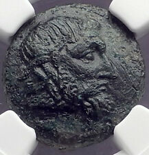 SEUTHES III Odrysian THRACE King 324BC HORSE Ancient Greek Coin NGC Ch VF i62691