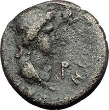 PERGAMON in Mysia 40AD Authentic Ancient Greek Coin ROMAN SENATE & ROMA i64353