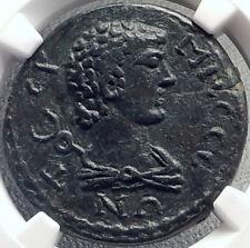 TERMESSOS MAJOR in PISIDIA 2-3CenAD HERMES & ASCLEPIUS Greek Coin NGC i69131