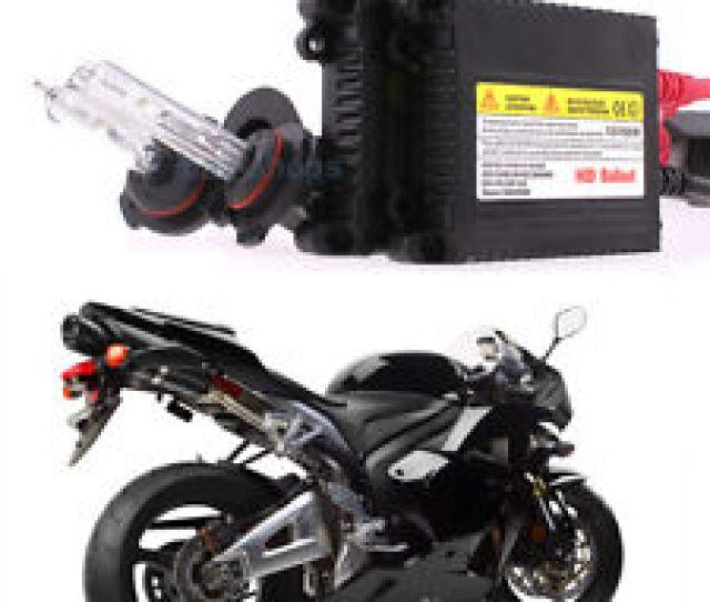 Xenon 55w H7 6000k White Headlight Hid Kit For Honda Cbr 1000rr 600rr F4i Rc51