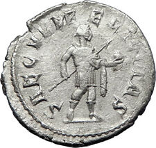 GORDIAN III with globe 242AD Rome Authentic Ancient Silver Roman Coin i70361