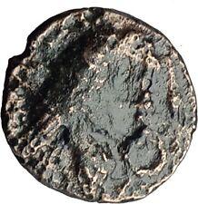 AMYNTAS III of Macedonia 393BC Hercules Eagle Serpent Ancient Greek Coin i63229