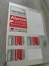 Systemes D Alarme Anti Vol 1 Autocollant Verisure Authentique 4x2 5 Cm Alarme Securitas Bricolage
