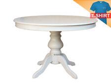 table ronde pied central en vente ebay