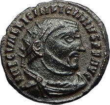 LICINIUS I Enemy of Constantine the Great 312AD Ancient Roman Coin w ZEUS i67418
