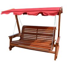 Hollywoodschaukel Holz 3 Sitzer Gunstig Kaufen Ebay