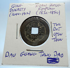 1821AD CHINESE Qing Dynasty Genuine Antique XUAN ZONG Cash Coin of CHINA i71463