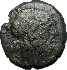AMPHIPOLIS in MACEDONIA 148BC Rare R2 Ancient Greek Coin POSEIDON CLUB i68486