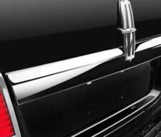 For Lincoln Navigator 2007 2014 Saa Polished License Plate Bar Trim