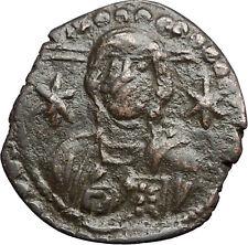 MICHAEL VII Ducas 1071AD JESUS CHRIST Follis LARGE Ancient Byzantine Coin i55761