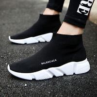 Sports Sock Sneakers Breathable Running Men Athletic Walking Shoes Mesh Walk