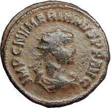 NUMERIAN Authentic Ancient 284AD Genuine Roman Coin of Cyzicus w JUPITER i67739