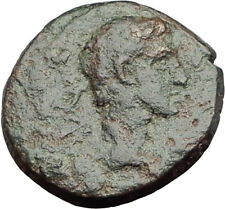 AUGUSTUS 27BC Philippi Macedonia PRIESTS Founding City Oxen Roman Coin i64626