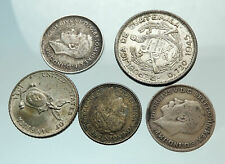 GROUP LOT of 5 Old SILVER Europe or Other WORLD Coins for your COLLECTION i75684