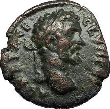 SEPTIMIUS SEVERUS Authentic Ancient 193AD Roman Coin Nicopolis DEMETER i67314