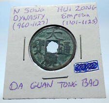 1101AD CHINESE Northern Song Dynasty Antique HUI ZONG Cash Coin of CHINA i72365