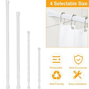 tension curtain rods for sale ebay