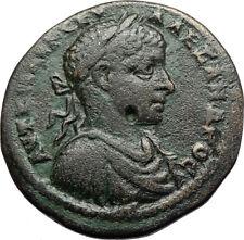 SEVERUS ALEXANDER Genuine Ancient 222AD Marcianopolis Roman Coin DEMETER i70776
