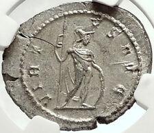 POSTUMUS Authentic Ancient 262AD Roman Coin VIRTUS NGC Certified MS i68151