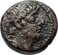 ANTICHOS IX Kyzikenos Authentic Ancient Seleukid Greek Coin Thunderbolt i67492