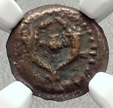 ALEXANDER JANNAEUS Biblical Jerusalem Widow's Mite Greek Bible Coin NGC i70624