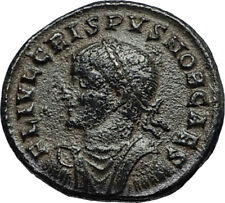 CRISPUS son of Constantine the Great 317AD Authentic Ancient Roman Coin i67280