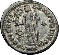 LICINIUS I Authentic Ancient Roman Original 317AD Coin JUPITER & VICTORY i70744