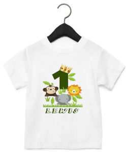 Personalised 1st Birthday T Shirt Products For Sale Ebay