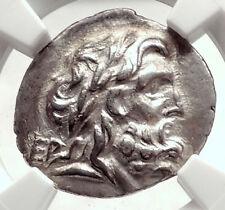 LARISSA Thessaly THESSALIAN LEAGUE 2-1CenBC Ancient Silver Greek Coin NGC i73344