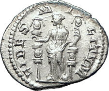 SEVERUS ALEXANDER 222AD Quality  Ancient Silver Roman Coin FIDES TRUST  i73571