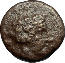 MARONEIA in Thrace 148BC Authentic Ancient Greek Coin - DIONYSUS WINE GOD i66805