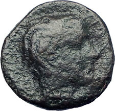 GELA Sicily 420BC Trias River God Gelas & Bull  Ancient Greek Coin rare  i73430