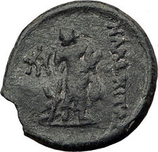 MARONEIA in THRACE 148BC Authentic Ancient Greek Coin APOLLO ASCLEPIUS i63507