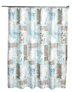 ocean nautical shower curtains