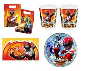 Power Rangers Party Supplies For Sale Ebay