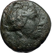 MARONEIA in Thrace 148BC Authentic Ancient Greek Coin - DIONYSUS WINE GOD i66691