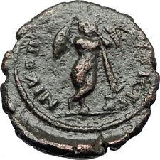 SEPTIMIUS SEVERUS 193AD Nicopolis ad Istrum Ancient Roman Coin THANATOS i70789