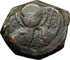 CRUSADERS of Antioch Tancred Ancient 1101AD Byzantine Time Coin St Peter i69519