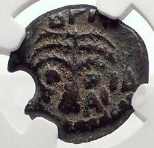 BRITANNICUS NERO Antonius Felix Jerusalem Ancient Roman CLAUDIUS Coin NGC i70827