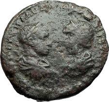 SEVERUS ALEXANDER & JULIA MAESA Marcianopolis Ancient Roman Coin ZEUS i71237