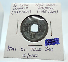 1195AD CHINESE Southern Song Dynasty Genuine NING ZONG Cash Coin of CHINA i75268