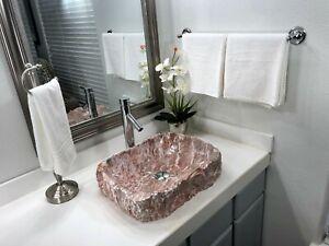 vessel bathroom pink bathroom sinks for