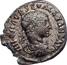 SEVERUS ALEXANDER 222AD EMESA Ancient Silver Roman Coin Liberalitas i73389