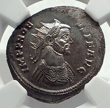 PROBUS Authentic Ancient 276AD Rome Genuine Original Roman Coin FIDES NGC i77341