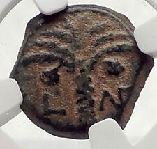 COPONIUS Prefect of Roman JERUSALEM under Augustus 6AD BIBLICAL Coin NGC i70864